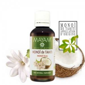Ulei de Monoï de Tahiti Autentic, 50 ml