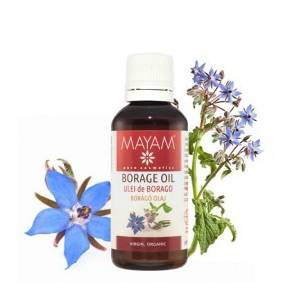 Ulei de Borago BIO, virgin, 50 ml
