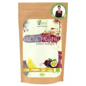 Pulbere  fructul pasiunii raw 125 gr